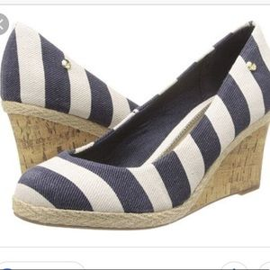 Life Stride Striped Wedges